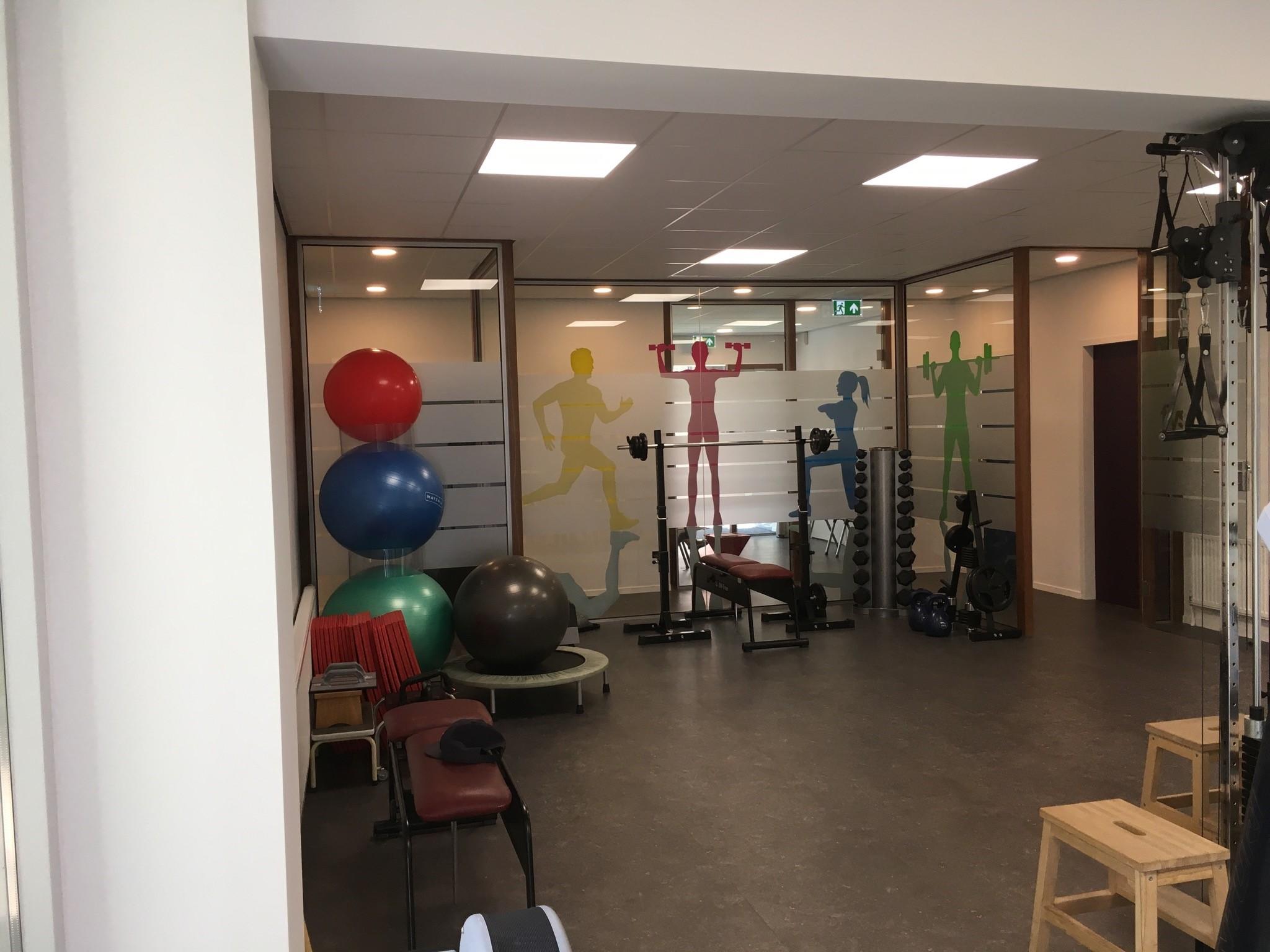 Fysio 4 Bottelroosstraat Selwerd Groningen - oefenruimte fysiotherapie 1