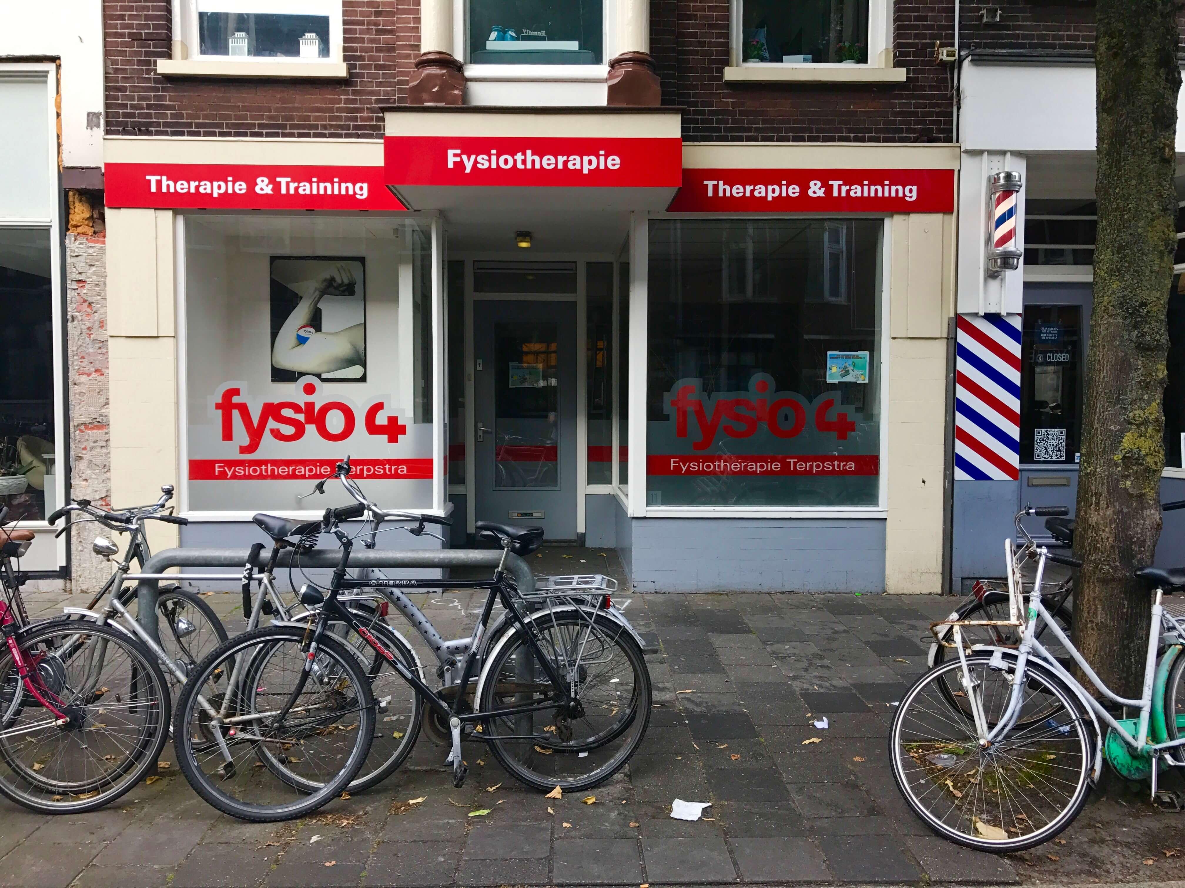 Fysio 4 Westersingel Groningen - buitenkant fysiopraktijk 1