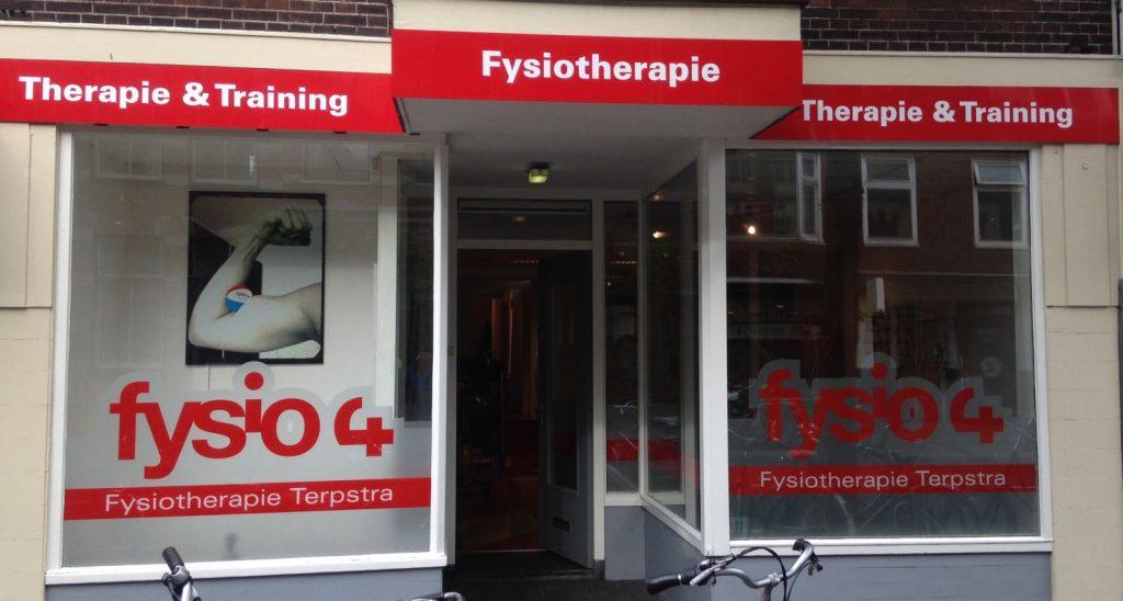 Fysio 4 Westersingel Groningen - buitenkant fysiopraktijk 4